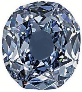 Wittelsbach, diamant bleu-gris